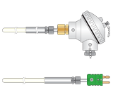 Type R Thermocouples for vacuum use