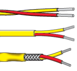 PFA Insulated Single Pair Thermocouple Cables