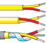 HR PVC Insulated Single Pair Thermocouple Cables