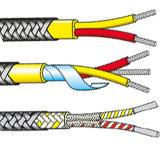 Stainless Steel Braided Thermocouple Cables