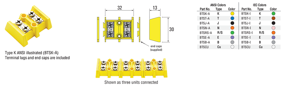 Interconnecting Barrier Terminal Blocks