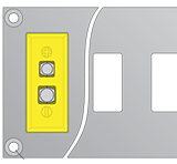 Standard Connector Panel With Mounting Holes