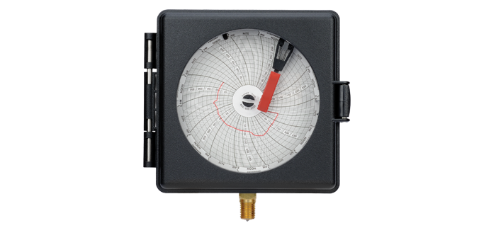 100mm Weather Resistant Pressure Recorder