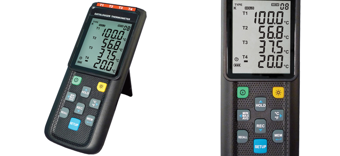 Up to Three Channel Hand Held Indicator with USB Output and Windows® Software
