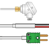 Mineral Insulated Type R Thermocouples