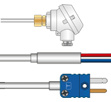 Type T Thermocouples with Mineral Insulation