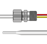 Swaged Tip Thermocouple With Terminal Entry Gland