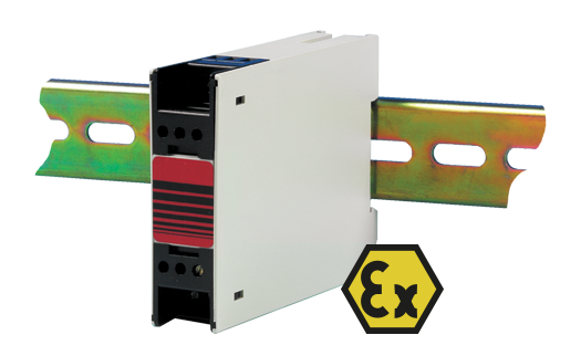 ATEX Approved Thermocouple and RTD Transmitter - DIN Rail Mounting