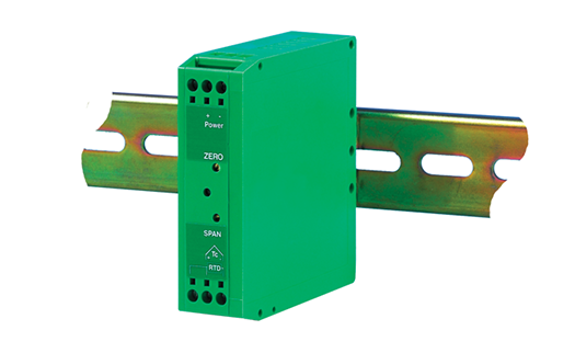 Low Cost Thermocouple and RTD Transmitter - DIN Rail Mounting