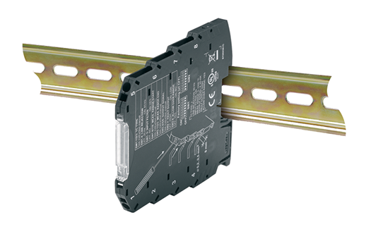 Universal Input Linearised & Isolated Slimline DIN Rail Transmitter