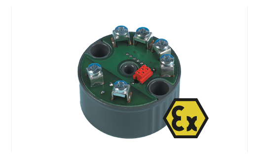 ATEX Approved Thermocouple and RTD Transmitter - Head Mounting